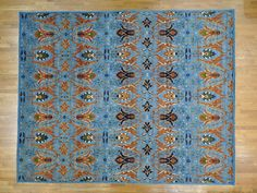 12'x15' Oversize Handmade Peshawar Antiqued Safavid Dynasty Design Rug G25018 #Persian