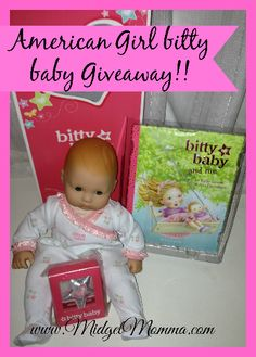 Enter to win an American Girl Bitty Baby