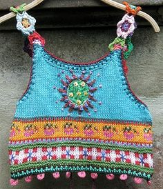 Forget-me-not, without instructions - Stricken, Filzen und so. - Forget-me-not, without instructions – Stricken, Filzen und so… - Gilet Crochet, Knit Crochet, Crochet Eyes, Crotchet, Crochet Clothes, Diy Clothes, Knitting Patterns, Crochet Patterns, Stitch Patterns