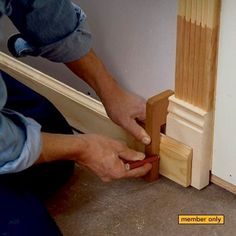 7 Trim Carpentry Secrets #WoodworkingTips