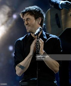 Recording artist Enrique Iglesias performs onstage during The 14th Annual Latin GRAMMY Awards at the Mandalay Bay Events Center on November 21, 2013 in Las Vegas, Nevada.