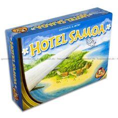 Billede af Hotel Samoa set skråt oppefra