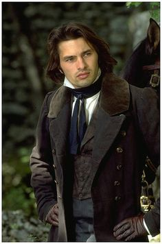 Olivier Martinez as Angelo Pardi - Film: The Horseman on the Roof - 1995