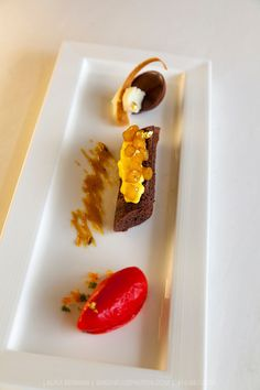 Plated Dessert: Sukminder Banwait. Cacao-Barry Callebaut Canadian Intercollegiate Chocolate Competition April 21 - 22, 2012.