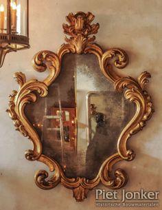 18e eeuwse Rococo spiegel