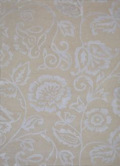 Country Chic Skimming Stone - a beautiful floral design. Skimming Stone, Country Chic, Floral Design, Rugs, Beautiful, Home Decor, Farmhouse Rugs, Homemade Home Decor, Floral Patterns