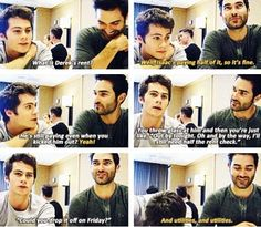 Haha they're so cute! Always wondered that myself hahaha! Tyler Hoechlin and Dylan Obrien