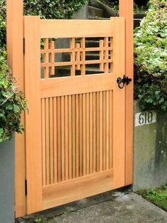 Wood Fence Gates, Fence Gate Design, Wood Arbor, Wooden Gates, Fences, Cedar Gate, Cedar Fence, Wooden Gate Designs, Arbor Gate