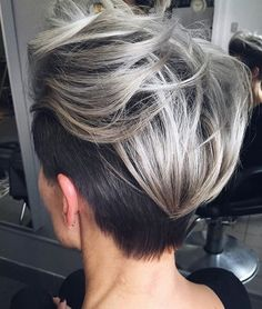 Silver hues and textured body. A gold star for originality and style. #T3Inspo via @josievillay