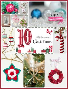 10 Easy DIY Christmas Decorations