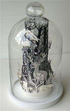 Helen Musselwhite Papercraft Dioramas