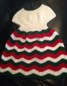 Chevron Chic Baby Dress [Free Pattern] | Your Crochet