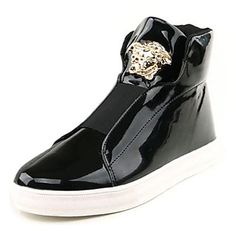 Botas de los hombres de hip-hop de tacón plano con zapatos de baile de  cinta mágica (más colores) a136164d06b