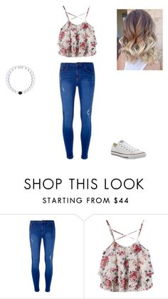 """""""Back to school outfit"""" by chloeedickinson on Polyvore featuring Dorothy Perkins and Converse"""