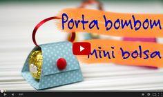 Clique para assistir à vídeo aula do porta bombom