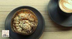 Low Carb Rezept für Low-Carb Apfel-Muffins. Wenig Kohlenhydrate und einfach zum Nachkochen. Super für Diät/zum Abnehmen.