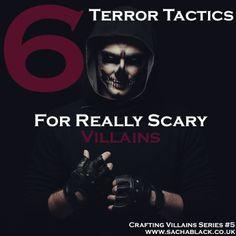 6 Terror Tactics For Terrifying Villains--Please Excuse the Language