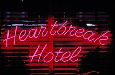 Heartbreak Hotel Neon Photograph  - Heartbreak Hotel Neon Fine Art Print