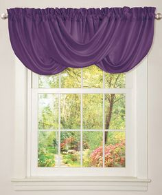This Purple Lucia Valance is perfect! #zulilyfinds