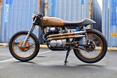 """COPPER CAFE"" 1972 CB350 - 8500 USD	ONO"