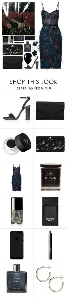 """""""Geen titel #562"""" by s-ensible ❤ liked on Polyvore featuring Topshop, LULUS, NARS Cosmetics, Notte by Marchesa, Chanel, Tom Ford, Alexander McQueen and Dinny Hall"""