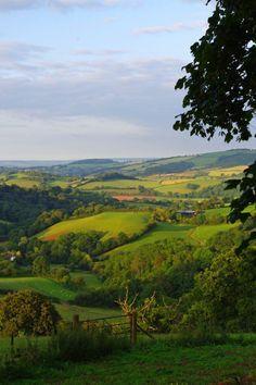 Bucket list travel: Green-quilted Devon, England.