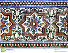 Moorish Ceramic Tiles - Download From Over 60 Million High Quality Stock Photos, Images, Vectors. Sign up for FREE today. Image: 29991264
