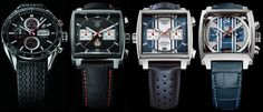 Tag Heuer Monaco Grand Prix Watches