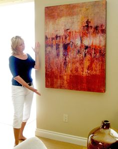 This collector loved the dash of inspired #color that his #painting added to…