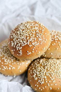 5 Minute Fluffy Flourless Paleo Hamburger Buns - Paleo Gluten Free Eats