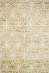 Sahara.SJ_09 ivory.ColorMoroccan inspired rugs. Sahara is hand knotted with two different fibers - jute and wool - the later forms the ethnic patterns in each design. Available in traditional off-whites and gorgeous blues. Available Sizes: ((9.6 x 13.6)