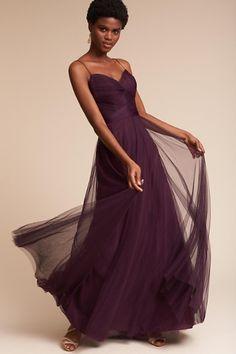 A Line Long Halter Dark Burgundy Bridesmaid Dress BD CA1746 | Dresses |  Pinterest | Bridesmaid Dress Styles, Long Bridesmaid Dresses And Wedding