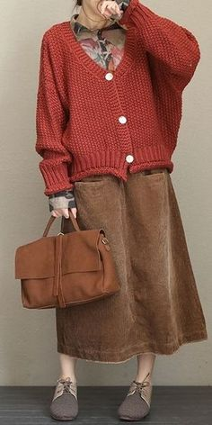 Loose Button Down Thicken Sweater Coat For Women Nordstrom Coats, Coats For Women, Sweaters For Women, Solange, Crochet Cardigan Pattern, Crochet Patterns, Knitwear Fashion, Clothes Pictures, Online Clothing Boutiques