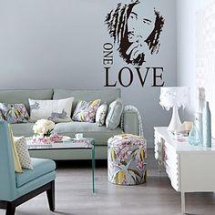 zooyoo®removable värikäs söpö muoti ja rakkautta seinä tarra ...