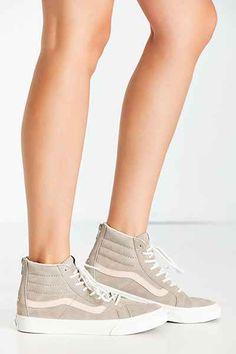 02ef168363 Vans Sk8-Hi Zip Croc Embossed Sneaker Trendy Womens Sneakers