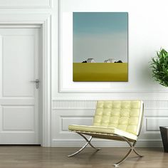 contemporary farm painting