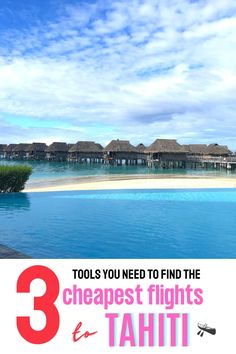 The 3 tools you need to find the cheapest airline tickets from Los Angeles California to Tahiti French Polynesia - cheap flight tips for your Tahiti vacation, how to get cheap flights to Tahiti Moorea #tahititravel #tahitihoneymoon Beautiful Vacation Spots, Dream Vacation Spots, Couples Vacation, Beautiful Places To Travel, Cool Places To Visit, Top Places To Travel, Top Travel Destinations, Travel Tips, Cheap Tropical Vacations