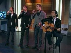 The Canadian Tenors - Hallelujah. One of my favorites! By some seriously sexy men.