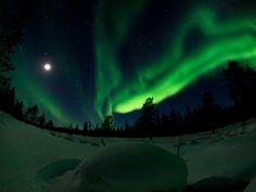 Northern Lights in Lapland, Finland. © VisitFinland 2013