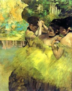 Image result for Yellow Dancers (In the Wings)