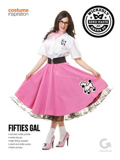 SF Goodwill Halloween Costume Ideas and Inspiration - Fifties Gal #goodwill #halloween #costume #fifties #thrift