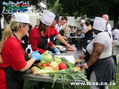 Broll Facilities Management Potjiekos Cooking team building event in Fourways, facilitated and coordinated by TBAE Team Building and Events Facility Management, Team Building Events, South Africa, Cooking, Kitchen, Brewing, Cuisine, Cook