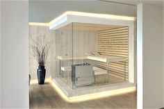 Kung saunas installs - modern - home gym - london - by Prestige Saunas Ltd