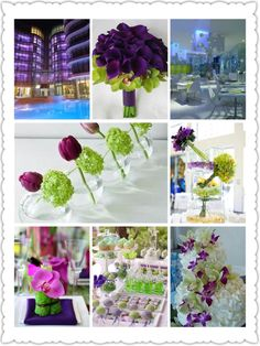 #wedding #white #green #violet #design #italy #perfectday.it