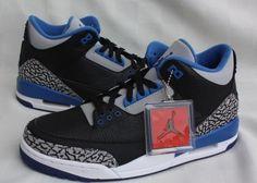 d526e2654f04 jordan 3 retro black blue grey 05 570x407 A Detailed Look at the Air Jordan  3 Retro Sport Blue