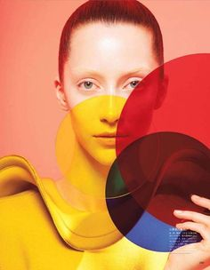 Alana Zimmer in 'Form and Color' - Photographed by Sophie Delaporte (Vogue Japan