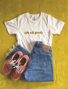 Pfirsichfarbenes T-Stück, - Kleidung für Teenager - Mode Trends Hipster Outfits, Trendy Outfits, Cool Outfits, Classy Outfits, Party Outfits, Cute Casual Outfits For Teens, White Girl Outfits, Cute Vintage Outfits, 50s Outfits