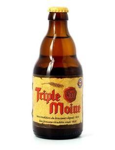Triple Moine, 7.3% 7/10, Brasserie du Bocq, Purnode Belgium
