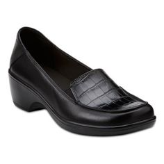 f3dc84c30a2 Clarks® May Thistle Leather Loafers found at  JCPenney Black Leather  Loafers