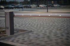 Barriera automatica Tau. Automatic barrier.